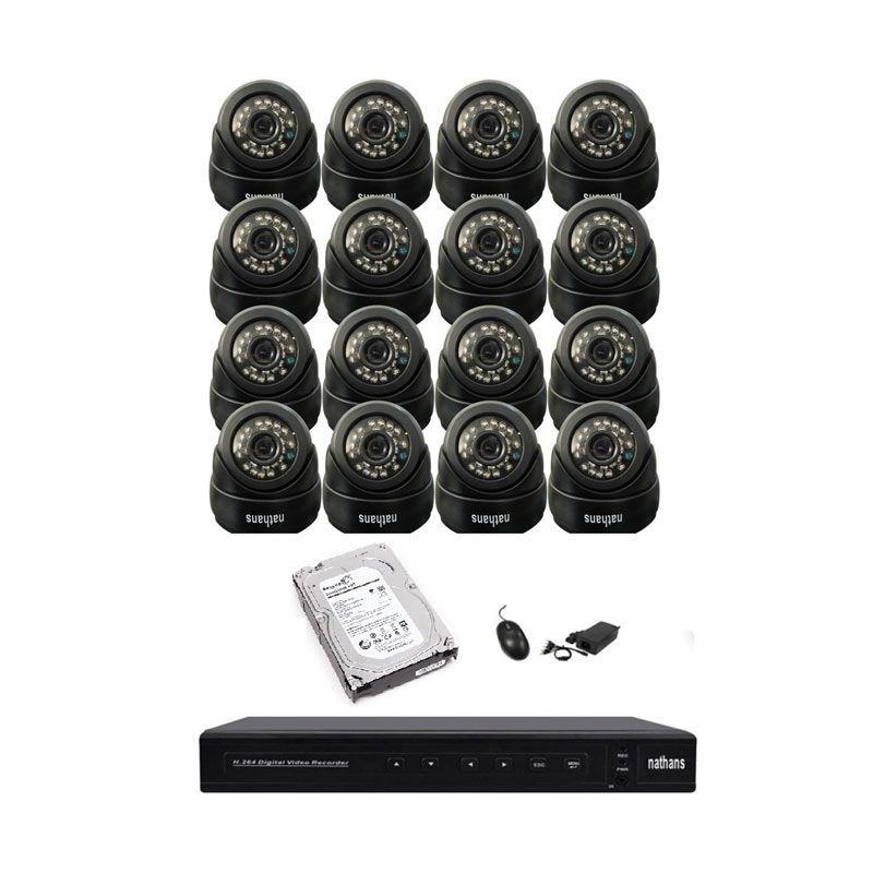 Paket CCTV Nathans 16 Channel 850TVL + HDD 1TB