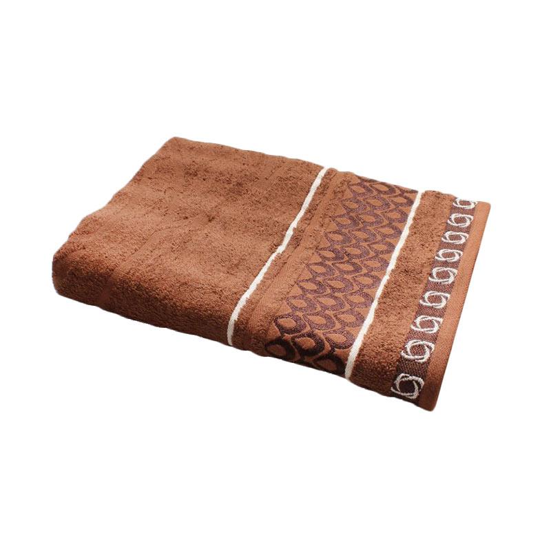 Towel One Handuk Mandi - Coklat Tua [70 x 135 cm]