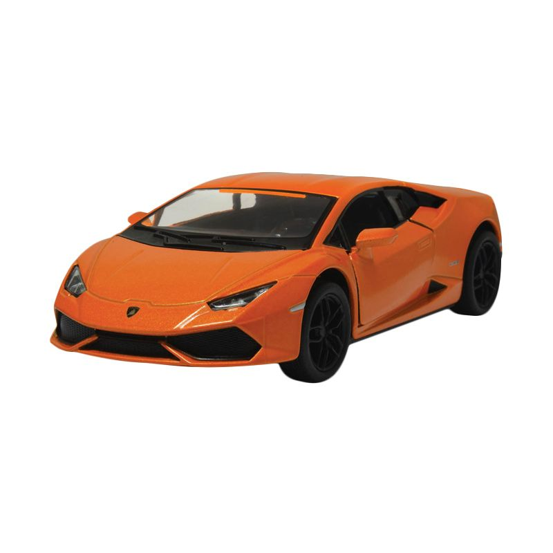Toylogy Kinsmart Lamborghini Huracan LP610-4 Orange Diecast