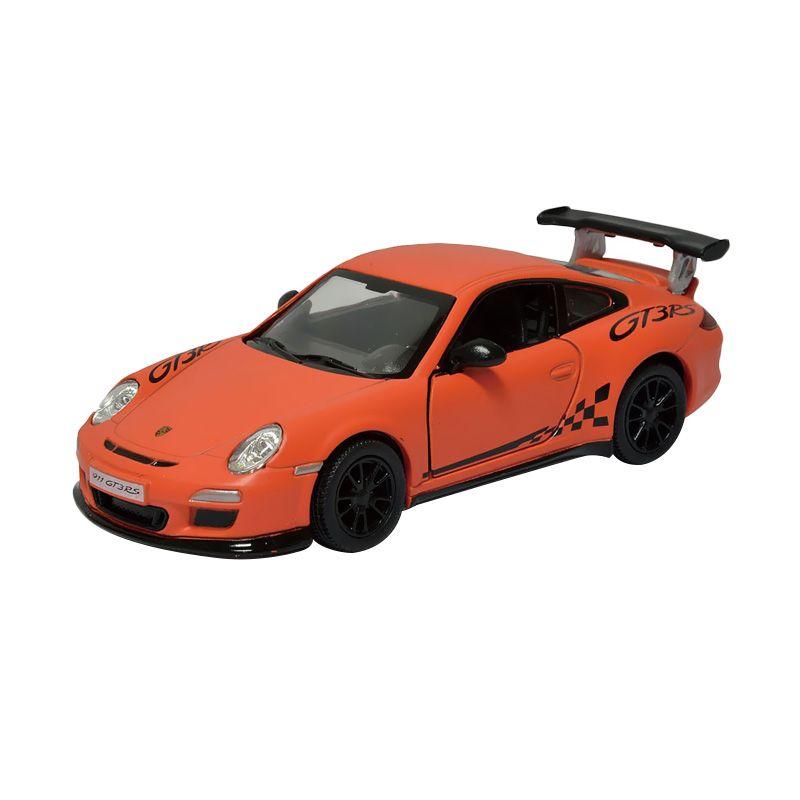 Toylogy Kinsmart Matte Porsche 911 GT3 RS Orange DieCast