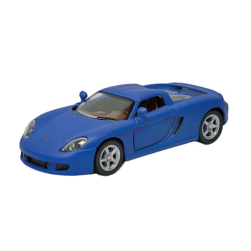 Toylogy Kinsmart Matte Porsche Carrera GT Blue DieCast