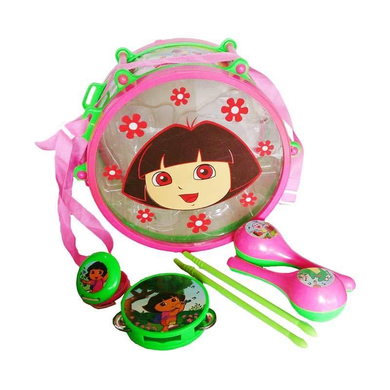 Dora Explorer Fiesta Band Alat Musik Set Dora Mainan Anak