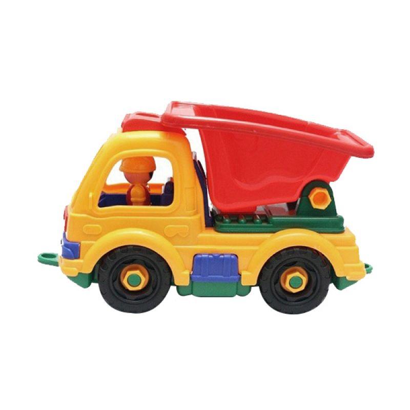 Toylogy Ravel Assemble Dump Truck Mainan Anak