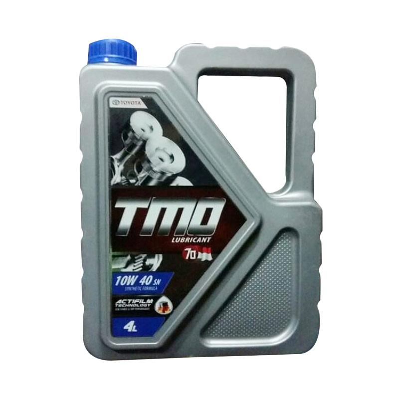 Jual Toyota Motor Oil TMO 10W 40 API SN