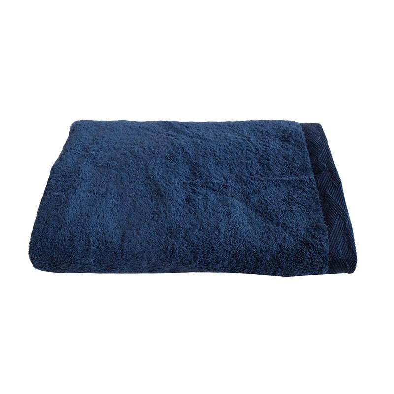 harga Toyoterry Basic Handuk Mandi - Indigo Blue Blibli.com