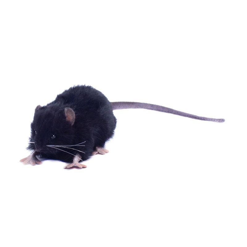 Hansa Domestic - Fat Rat 557 BLK 12 cm Boneka Binatang