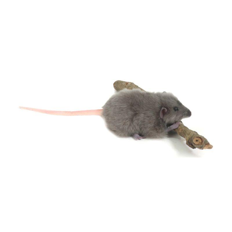Hansa Domestic - Fat Rat 557 GRY 12 cm Boneka Binatang