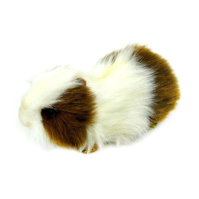 Hansa Domestic - Guinea Pig BRN WHT 20 cm Boneka Binatang