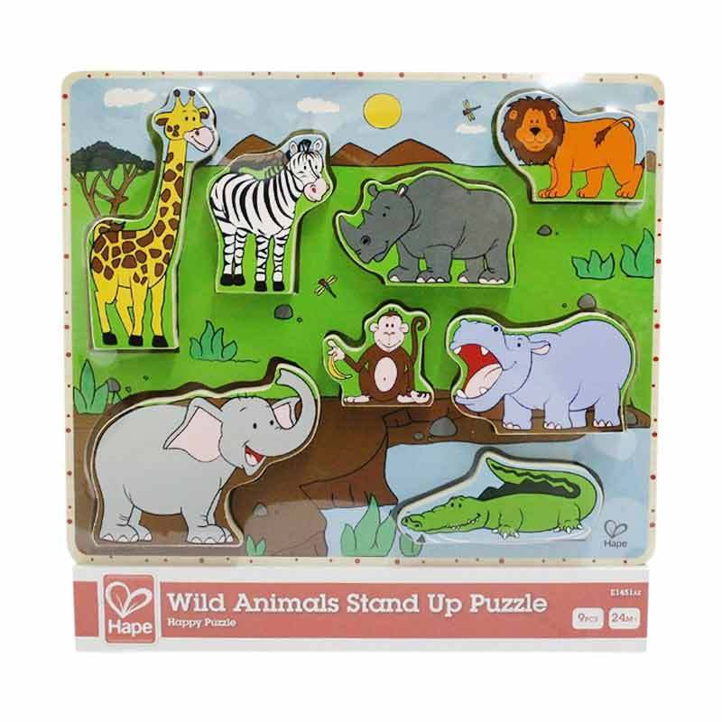 HAPE Puzzle Wild Animals Stand Up E1451AE