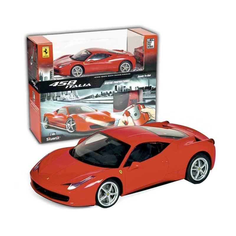 Silverlit - R/C Vehicle : Ferrari 458 Italia 86066