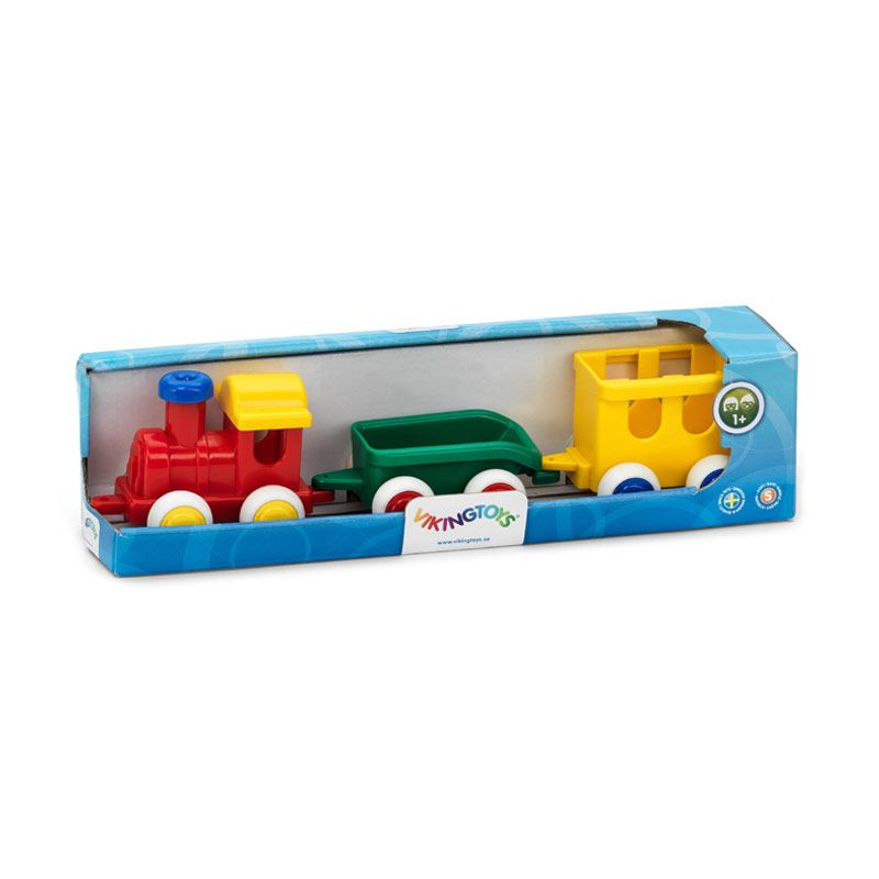 Viking Toys - Chubby Train Set In Gift Box 81174