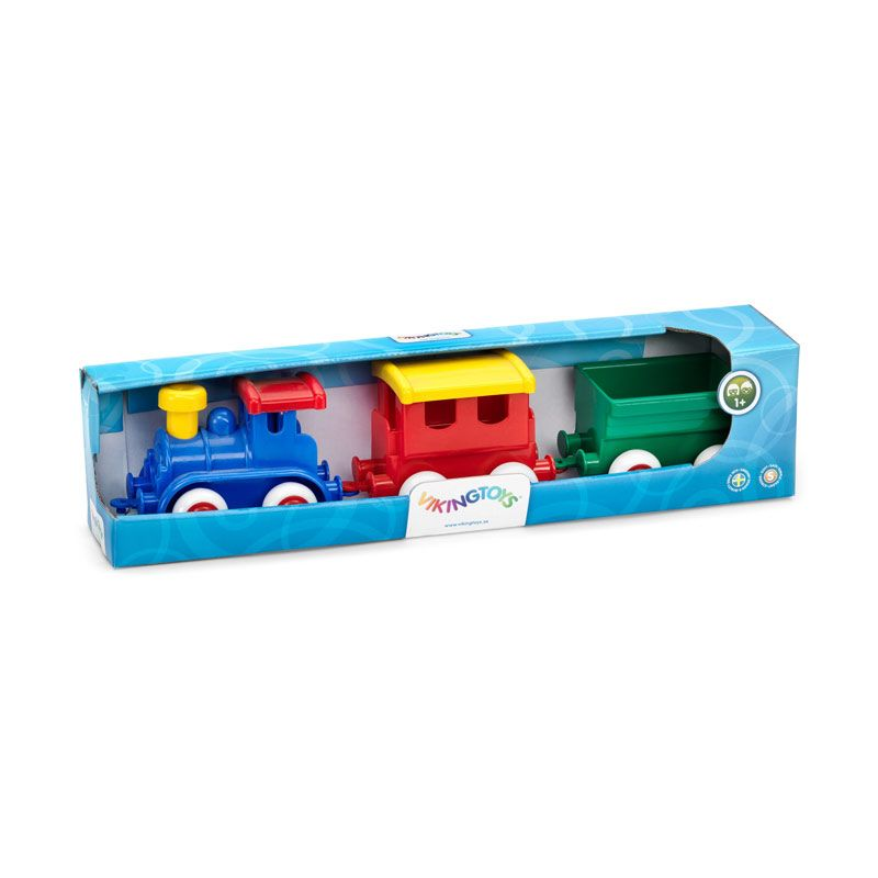 Viking Toys - Maxi Train Set In Gift Box