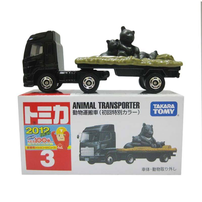 Tomica 3 Animal Transporter (Black)