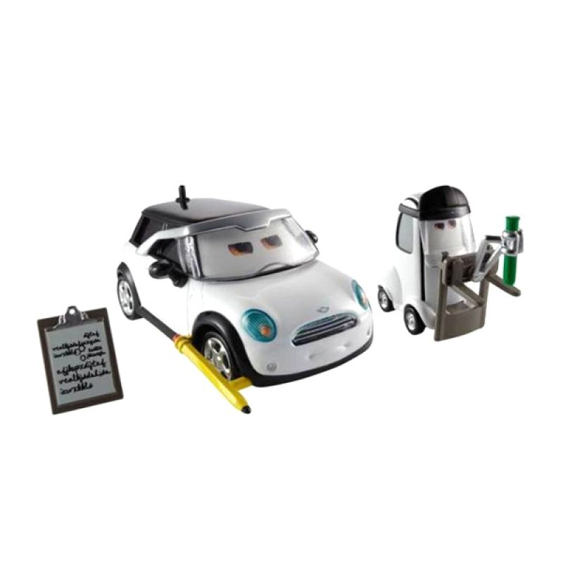 Disney Cars Jessica Giampetrol dan Nate Stanchion Mainan Anak [1:55]