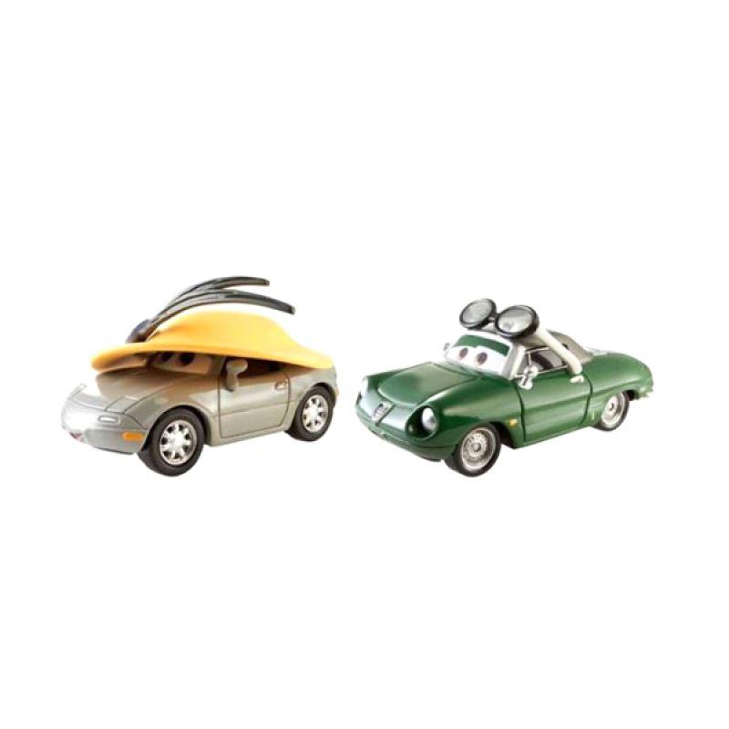 Disney Cars Kimberly Rims & Carinne Cavvy Die Cast (1:55) Scale Original Item