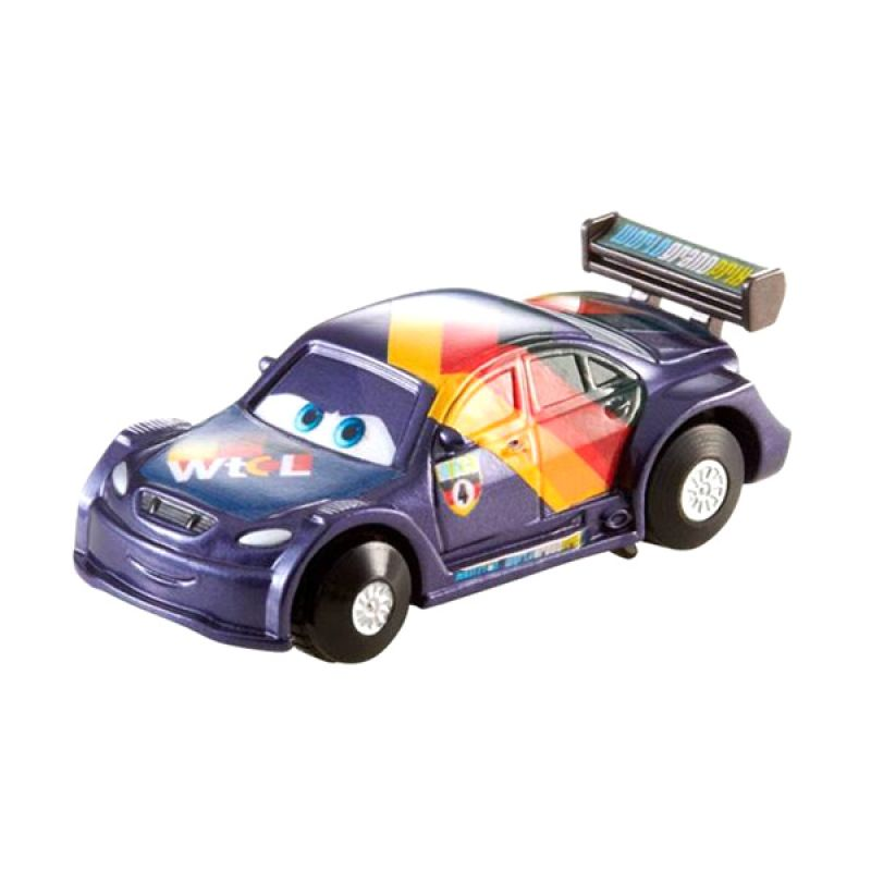 Disney Cars Stunt Racers Max Schnell Die Cast (1:55) Scale Original Item