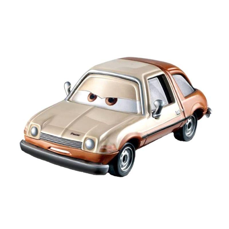 Disney Cars Single Pack Tubbs Pacer Brown Mainan Anak