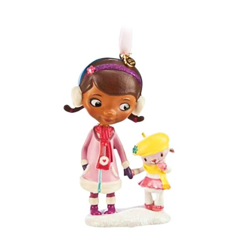 Disney Ornament Doc McStuffins & Lambie Ornament Original Item