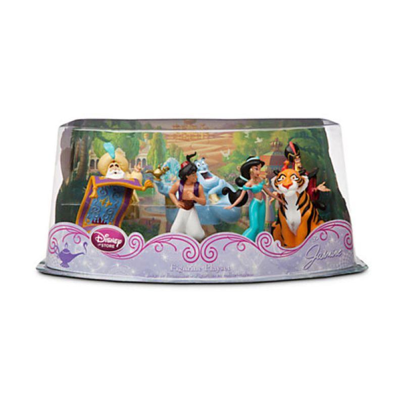 Disney Aladdin Figurine Playset (Jasmine, Genie, etc) Original Item