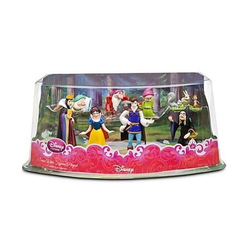 Disney Snow White Figurine Playset (The Prince, Grumpy, etc) Original Item