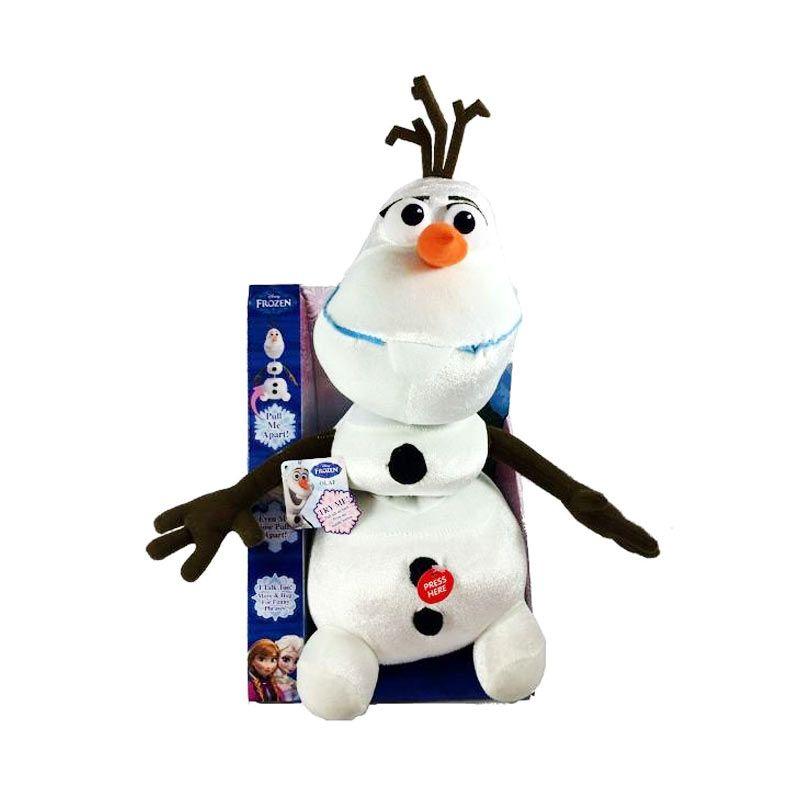 Disney Frozen Pull Apart and Talking Olaf Doll Mainan Anak