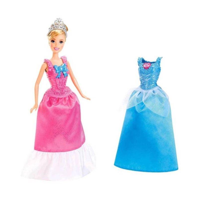 Disney Magic Clip Cinderella Doll & Fashion Giftset Original Item