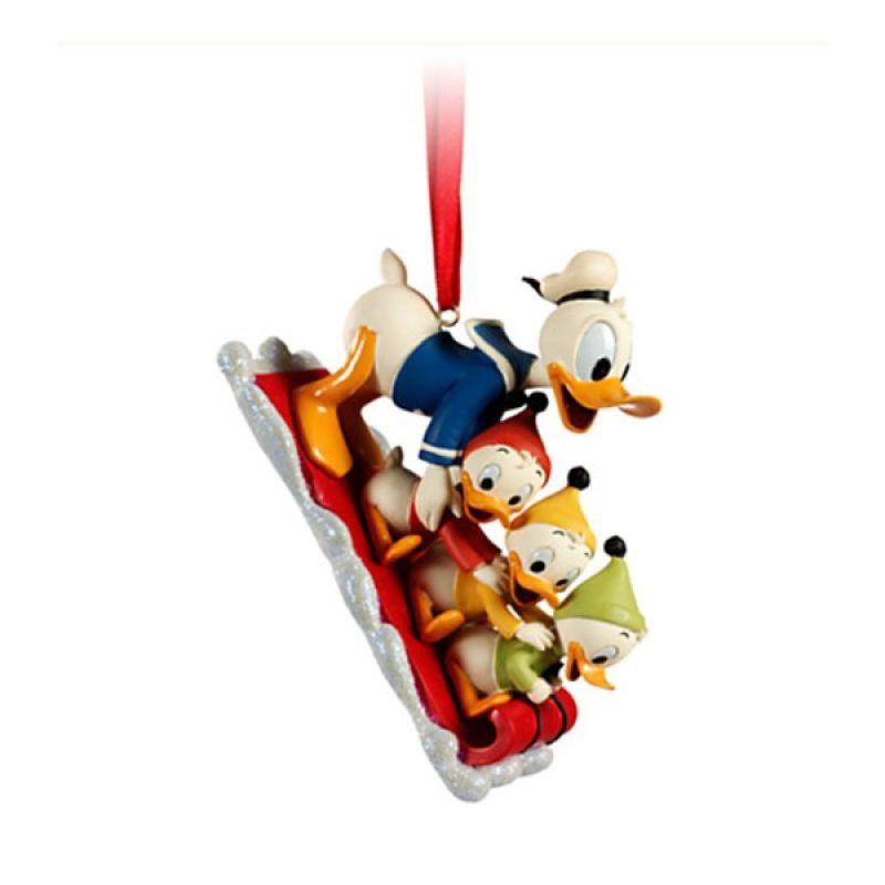 Disney Ornament Huey, Dewey, Louie & Donald Duck Original Item