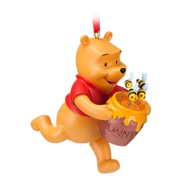 Disney Ornament Winnie the Pooh w/ Hunny Jar Original Item