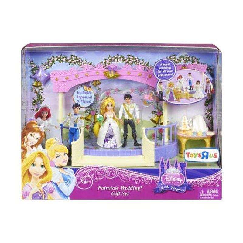 Disney Princess Rapunzel Fairytale Wedding Gift Set Original Item