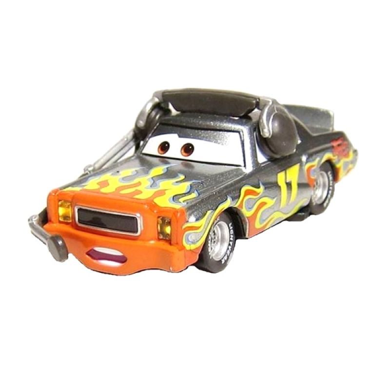 Disney Cars Single Pack Darrell Cartrip Mainan Anak