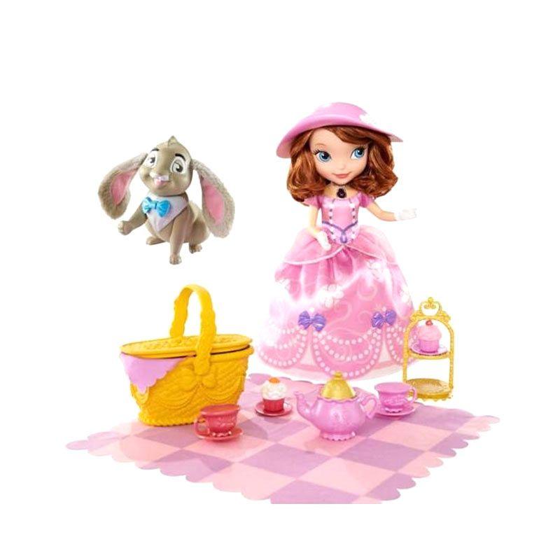 Disney Sofia The First Tea Party Picnic Mainan Anak [25 Cm]