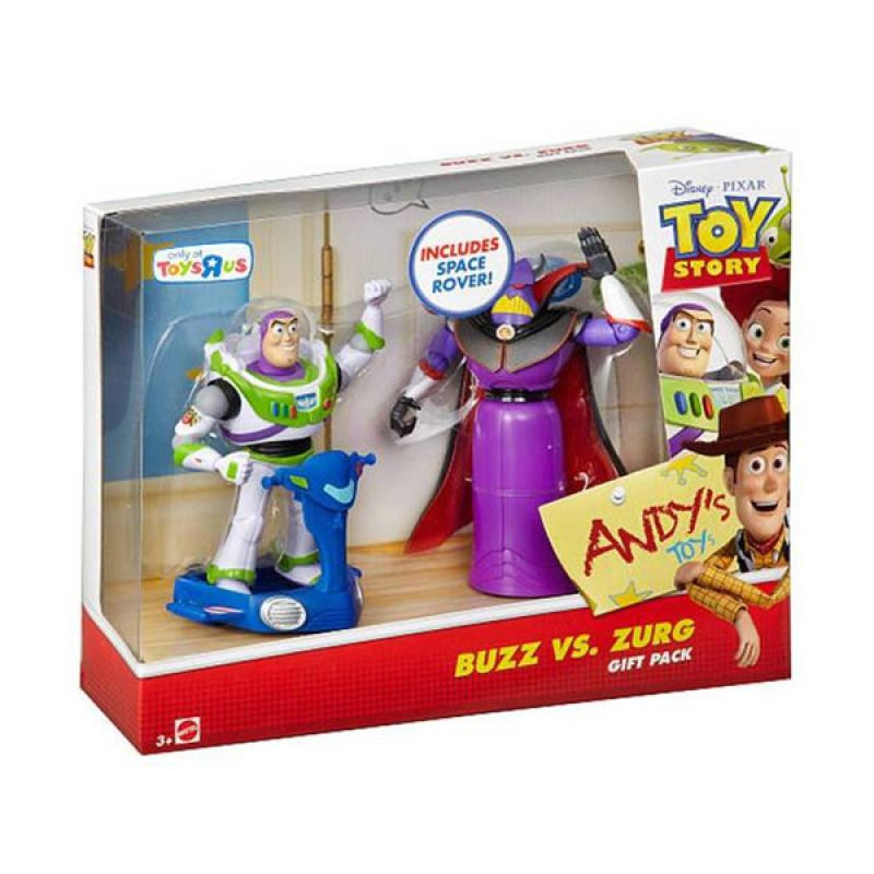 Disney Toy Story Buzz (Space Rover) vs. Zurg Gift Pack Original Item