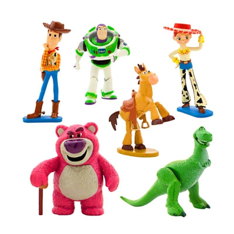 Disney Toy Story Complete Set Buzz, Jessy, Woody etc Original Item