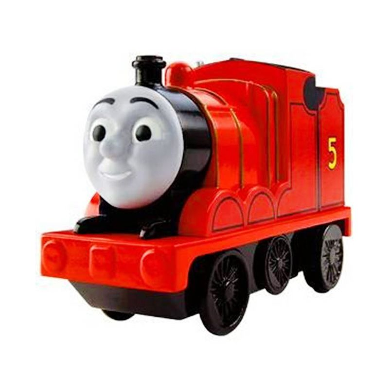 Fisher Price Thomas and Friends Motorized James Mainan Anak