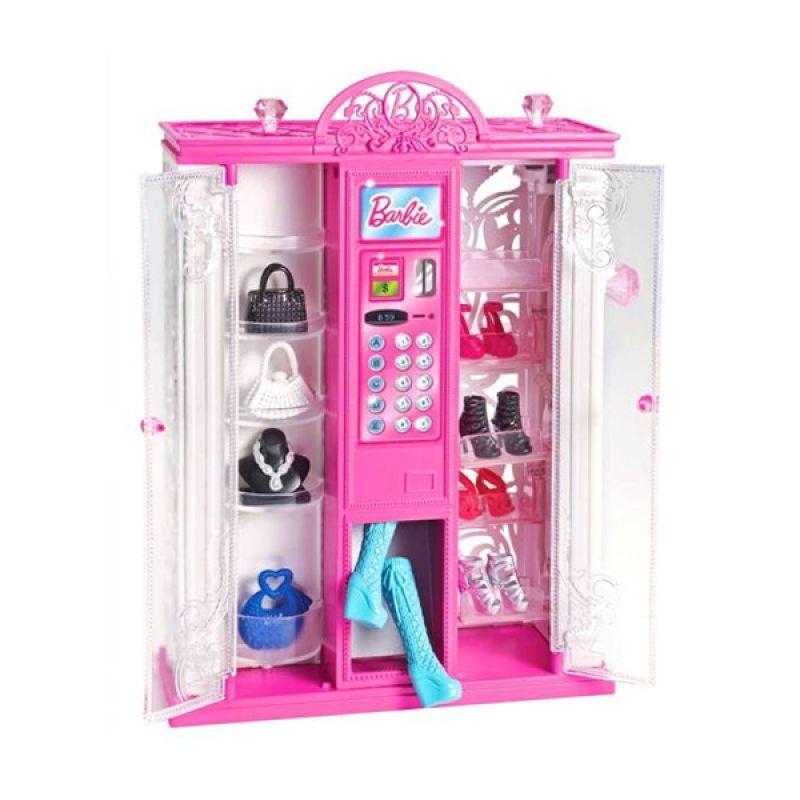 Hasbro Barbie Life In The Dreamhouse Fashion Vending Machine Pink Mainan Anak