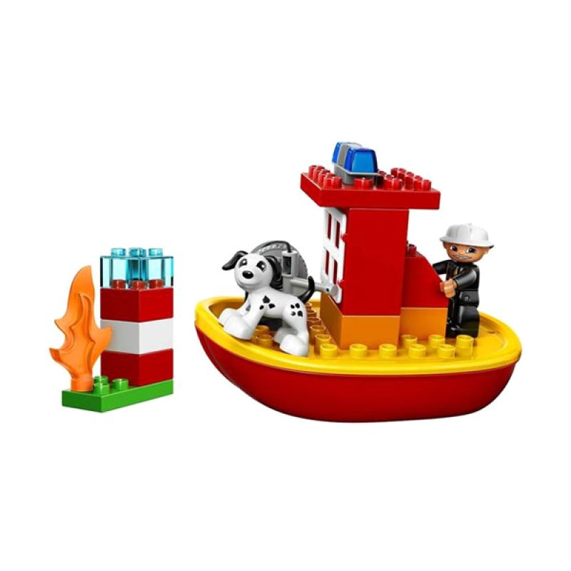 Lego Duplo Fire Boat 10591 Original Item