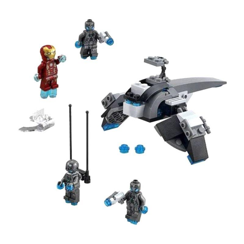 Lego Super Heroes Iron Man Versus Ultron 76029 Mainan Blok dan Puzzle