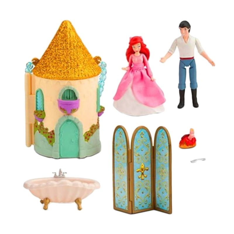Disney Ariel Mini Castle Play Set Original Item