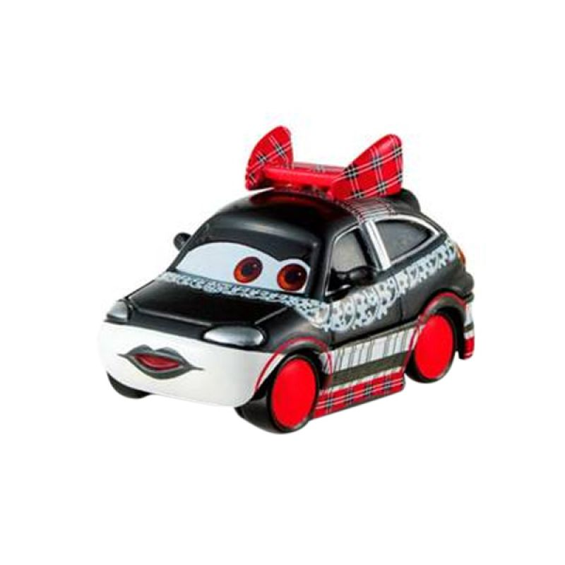 Mattel Disney Cars Chisaki Tuners Edition Mainan Anak [1:55]