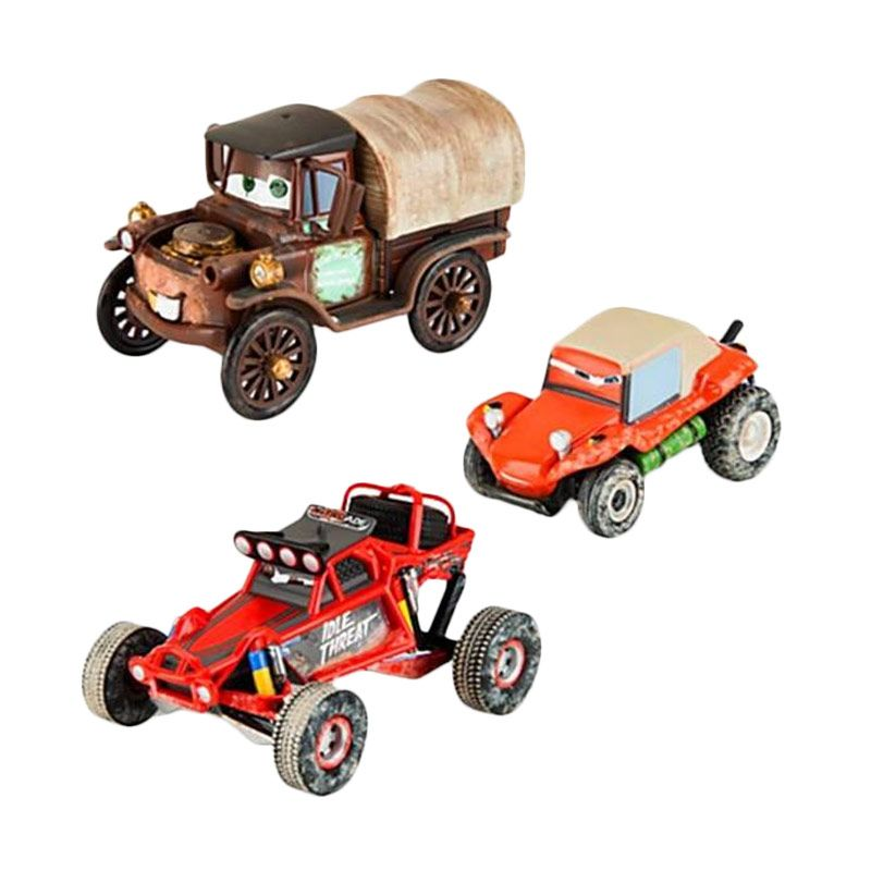 Disney Cars Radiator Springs 500 Mater Off Road Series 3 Pcs Set Original Item