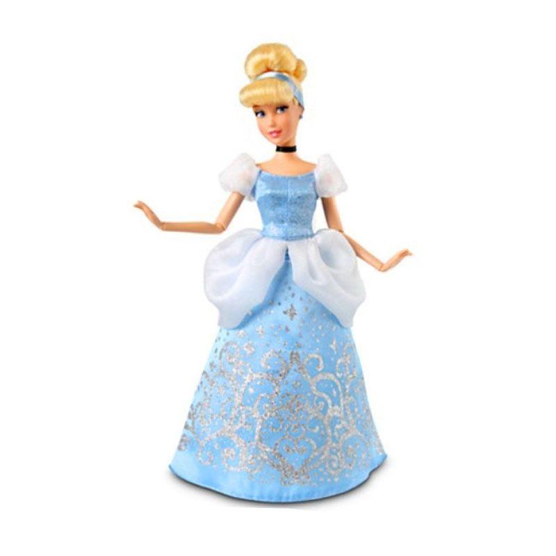 Mattel Disney Cinderella Classic Doll Mainan Anak [30 cm]