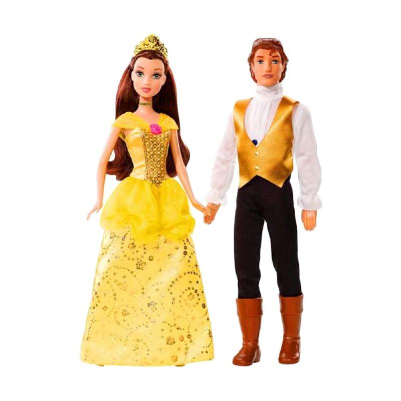 Disney Princess Belle & Prince Adam Set (30cm) Original Item