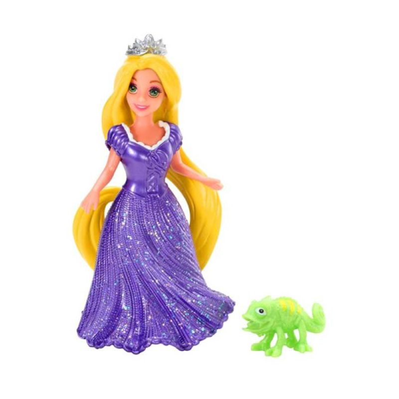 Mattel Disney Princess Magic Clip Rapunzel & Pascal Magic Clip Doll Mainan Anak