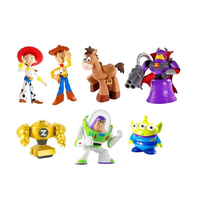 Disney Toy Story Al's Toy Barn 7 Pcs Set (20th Anniversary Ed) Original Item