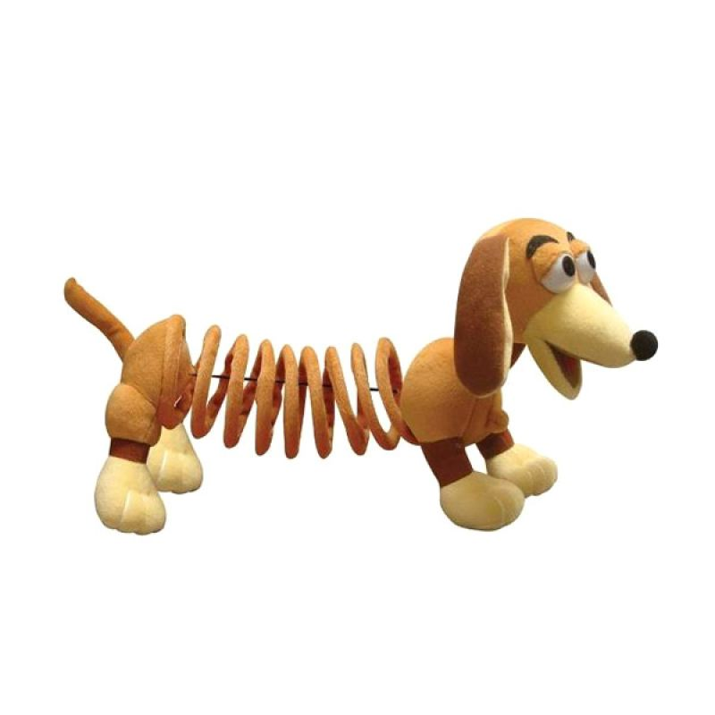 Disney Toy Story Soft Slinky Dog Plush (30cm) Original Item