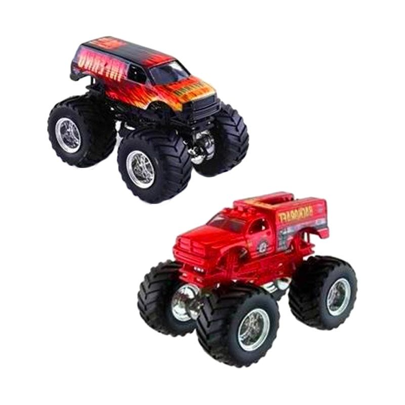 Hot Wheels Monster Jam Inferno & Backdraft Die Cast (1:64) Scale Original Item