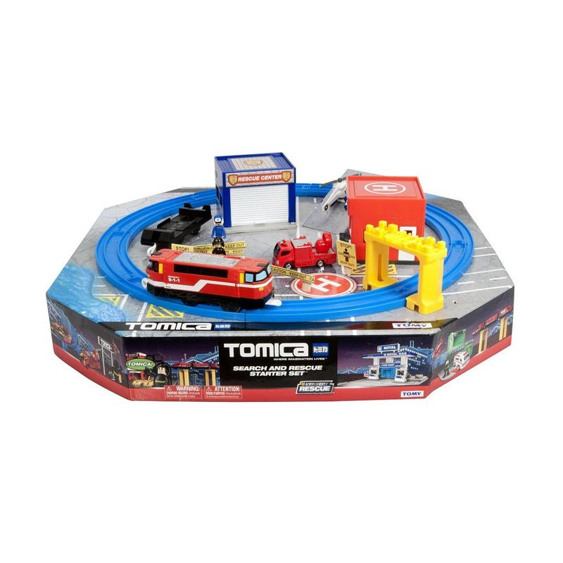 Tomica Hypercity Search and Rescue Starter Set Mainan Anak