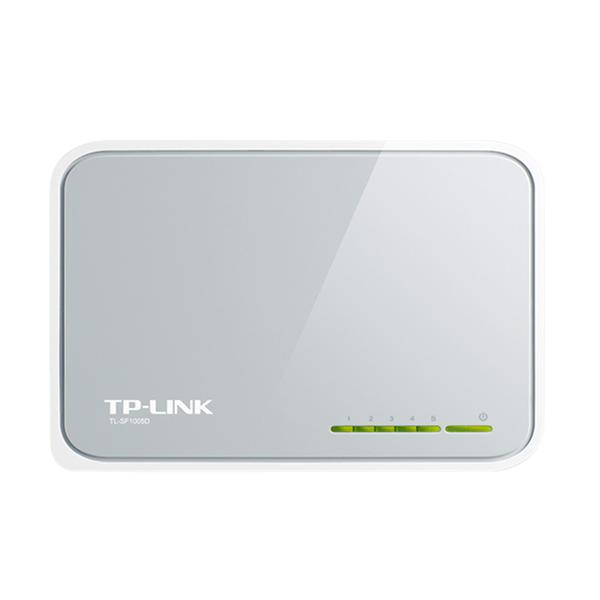 TP-Link TL-SF1005D Desktop Switch [5 Port/10/100Mbps]