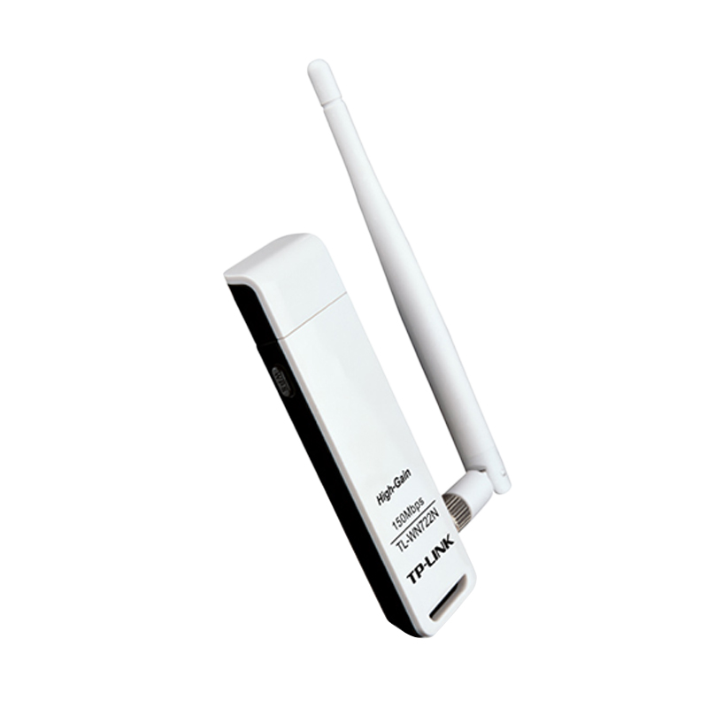 TP-Link TL-WN722N Wireless N USB Adapter with Antenna [150 Mbps]