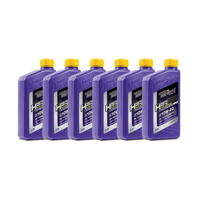 Royal Purple HPS 10W-40 Fully Synthetic Engine Oil [6 Quart]